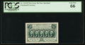 Fractional Currency:First Issue, Fr. 1313SP 50¢ First Issue Narrow Margin Face PCGS Gem New 66.. ...