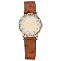 Hermès Gold, Stainless Steel Clipper Watch