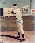 """Baseball Collectibles:Photos, Mickey Mantle Signed and Inscribed """"1951"""" Oversized Photograph...."""