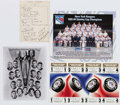 Hockey Collectibles:Others, New York Rangers Collection - Including 1940 Team Signed Sheet. ...