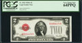 Small Size:Legal Tender Notes, Fr. 1502 $2 1928A Legal Tender Note. PCGS Very Choice New 64PPQ.. ...