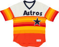 Baseball Collectibles:Uniforms, 1983-84 Mike Scott Game Worn Houston Astros Jersey....