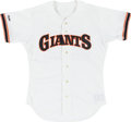 Baseball Collectibles:Uniforms, 1988 Will Clark Game Worn San Francisco Giants Jersey....