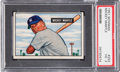 Baseball Cards:Singles (1950-1959), 1951 Bowman Mickey Mantle #253 PSA VG 3....