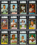 Baseball Cards:Sets, 1954 Bowman Baseball Complete Set (224) with #66 Ted Williams. ...