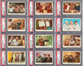 Non-Sport Cards:Sets, 1959 Fleer Stooges Near Set (87/96) Plus Rare Checklist. ...