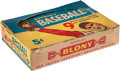 Baseball Cards:Unopened Packs/Display Boxes, 1955 Bowman Baseball 5-Cent Wax (Empty) Display Box. ...
