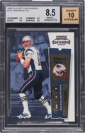 Football Cards:Singles (1970-Now), 2000 Playoff Contenders Tom Brady #144 Rookie Ticket Autograph BGSNM-MT+ 8.5 - 10 Autograph. ...