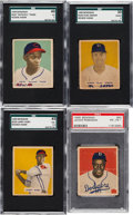 Baseball Cards:Sets, 1949 Bowman Baseball Complete Set (240) Plus 12 Variations. ...