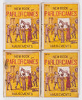Platinum Age (1897-1937):Miscellaneous, New Book of Parlor Games and Amusements #12 Group of 25 (Star Book & Novelty Co., 1920) Condition: Average GD.... (Total: 25 Items)