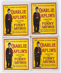Charlie Chaplin's Chatter and Funny Sayings #52 Group of 25 (Star Book & Novelty Co., 1916) Condition: Average F...