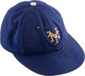 Baseball Collectibles:Hats, 1936-37 Freddie Fitzsimmons Game Worn New York Giants Cap....