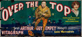 "Movie Posters:War, Over the Top (Vitagraph, 1918). 24 Sheet (104"" X 232""). War.. ..."