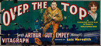 "Over the Top (Vitagraph, 1918). 24 Sheet (104"" X 232""). War"