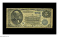National Bank Notes:Missouri, Saint Louis, MO - $5 1882 Date Back Fr. 534 The Merchants-LacledeNB Ch. # (M)5002. A well circulated Very Good Dat...