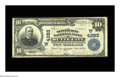 National Bank Notes:Montana, Butte City, MT - $10 1902 Plain Back Fr. 627 The Silver Bow NB Ch. # (W)4283. Large notes only from this scarce bank, wh...
