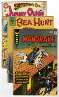 Silver Age (1956-1969):Miscellaneous, Dell/DC/Marvel Reading Copies Short Box Group (Dell/DC/Marvel, 1956-72) Condition: Average FR/GD....