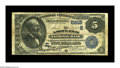 National Bank Notes:Pennsylvania, Ashland, PA - $5 1882 Value Back Fr. 574 The Ashland NB Ch. #(E)5615. Although this Very Good-Fine note has seen c...