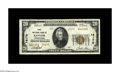 National Bank Notes:Pennsylvania, Bangor, PA - $20 1929 Ty. 2 First NB Ch. # 14170. An especiallywell margined Type 2 from a town that was dominated by t...