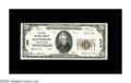 National Bank Notes:Pennsylvania, Bloomsburg, PA - $20 1929 Ty. 2 The First NB Ch. # 293. A wellcentered note that would be an unquestioned Gem but for ...