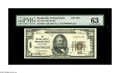 National Bank Notes:Pennsylvania, Brookville, PA - $50 1929 Ty. 1 The NB Ch. # 3051. New highdenomination examples are common for this institution, but ...