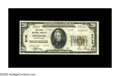 National Bank Notes:Pennsylvania, Coaldale, PA - $20 1929 Ty. 2 The First NB Ch. # 9739. This VeryFine+ note is from the first of the two banks char...