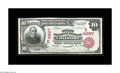 National Bank Notes:Pennsylvania, Coalport, PA - $10 1902 Red Seal Fr. 613 The First NB Ch. # (E)6887. One of four Red Seals known from this bank, none of...