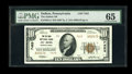 National Bank Notes:Pennsylvania, DuBois, PA - $10 1929 Ty. 2 The DuBois NB Ch. # 7453. ThisClearfield County bank issue is new to the Kelly census and c...