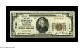 National Bank Notes:Pennsylvania, Galeton, PA - $20 1929 Ty. 1 The First NB Ch. # 7280. A decent VeryFine example, but with a little bit of seal blee...