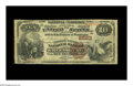 National Bank Notes:Pennsylvania, Greensburg, PA - $10 1882 Brown Back Fr. 490 The Merchants &Farmers NB Ch. # (E)2562. Although there are 16 Large from ...