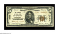 National Bank Notes:Pennsylvania, Herndon, PA - $5 1929 Ty. 2 The Herndon NB Ch. # 13982. A nice example from this scarce Northumberland County bank. The ...