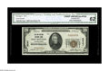 National Bank Notes:Pennsylvania, Hop Bottom, PA - $20 1929 Ty. 1 The Hop Bottom NB Ch. # 9647. Ahigh grade example bearing a most sought after town name...