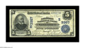 National Bank Notes:Pennsylvania, Lancaster, PA - $5 1902 Plain Back Fr. 598 The Northern NB Ch. #(E)3367. A strong Very Fine with excellent signatu...