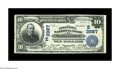 National Bank Notes:Pennsylvania, Lancaster, PA - $10 1902 Date Back Fr. 618 The Conestoga NB Ch. #(E)3987. An evocatively named institution from strong...