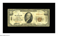 National Bank Notes:Pennsylvania, Mars, PA - $10 1929 Ty. 1 The Mars NB Ch. # 5599. This Very Goodexample displays some soiling from circulation, but...