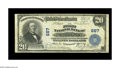 National Bank Notes:Pennsylvania, Mount Joy, PA - $20 1902 Plain Back Fr. 650 The First NB Ch. # 667.A problem free Fine+ from the first of two issu...