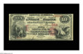 National Bank Notes:Pennsylvania, Mount Pleasant, PA - $10 1875 Fr. 417 The First NB Ch. # 386. Atougher type from this western Pennsylvania bank, with ...