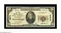 National Bank Notes:Pennsylvania, New Albany, PA - $20 1929 Ty. 1 The First NB Ch. # 8973. A toughernote from the only bank to issue in this Bradford Cou...