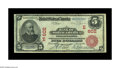 National Bank Notes:Pennsylvania, Philadelphia, PA - $5 1902 Red Seal Fr. 587 The Bank of NorthAmerica Ch. # (E)602. This is a very significant note for ...