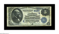 National Bank Notes:Pennsylvania, Philadelphia, PA - $5 1882 Date Back Fr. 537 The Franklin NB Ch. # (E)5459. A Fine-Very Fine note from a bank which...