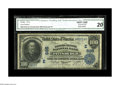 National Bank Notes:Pennsylvania, Pittsburgh, PA - $100 1902 Date Back Fr. 689 The Farmers Deposit NB Ch. # (E)685. One of six of this type and denominat...