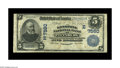 National Bank Notes:Pennsylvania, Pittsburgh, PA - $5 1902 Date Back Fr. 590 The Keystone NB Ch. #(E)7560. An elusive Pittsburgh issuer that closed its ...