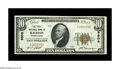 National Bank Notes:Pennsylvania, Ralston, PA - $10 1929 Ty. 1 The First NB Ch. # 9508. An extremely scarce Lycoming County bank, with this one of the two...