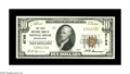 National Bank Notes:Pennsylvania, Shingle House, PA - $10 1929 Ty. 1 The First NB Ch. # 6799. Alovely example of this much in demand note, which bears on...