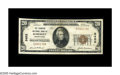 National Bank Notes:Pennsylvania, Somerset, PA - $20 1929 Ty. 1 The Farmers NB Ch. # 5452. Thisinstitution failed in 1934 and printed only 278 sheets of...