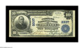 National Bank Notes:Pennsylvania, Towanda, PA - $10 1902 Plain Back Fr. 632 The Citizens NB Ch. #2337. A nicely centered Extremely Fine $10 Plain Ba...