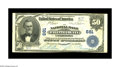 National Bank Notes:Pennsylvania, Uniontown, PA - $50 1902 Plain Back Fr. 675 NB of Fayette County Ch. # 681. This clean note which resides in the current...