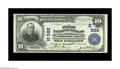 National Bank Notes:Pennsylvania, Washington, PA - $10 1902 Plain Back Fr. 624 The First NB Ch. #(E)586. A solid Extremely Fine with superior center...