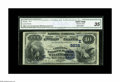 National Bank Notes:Pennsylvania, Waynesboro, PA - $10 1882 Date Back Fr. 545 The Citizens NB Ch. #(E)5832. A well centered CGA Very Fine 35 with si...