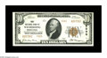 National Bank Notes:Pennsylvania, Wilmerding, PA - $10 1929 Ty. 2 First NB Ch. # 5000. A lovely,fully original piece with bold embossing and great eye ap...